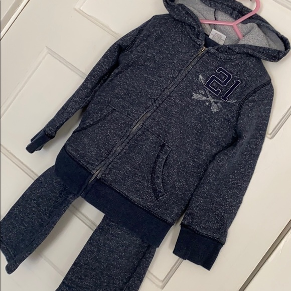 Size 5 matching sweat outfit pants and hoodie